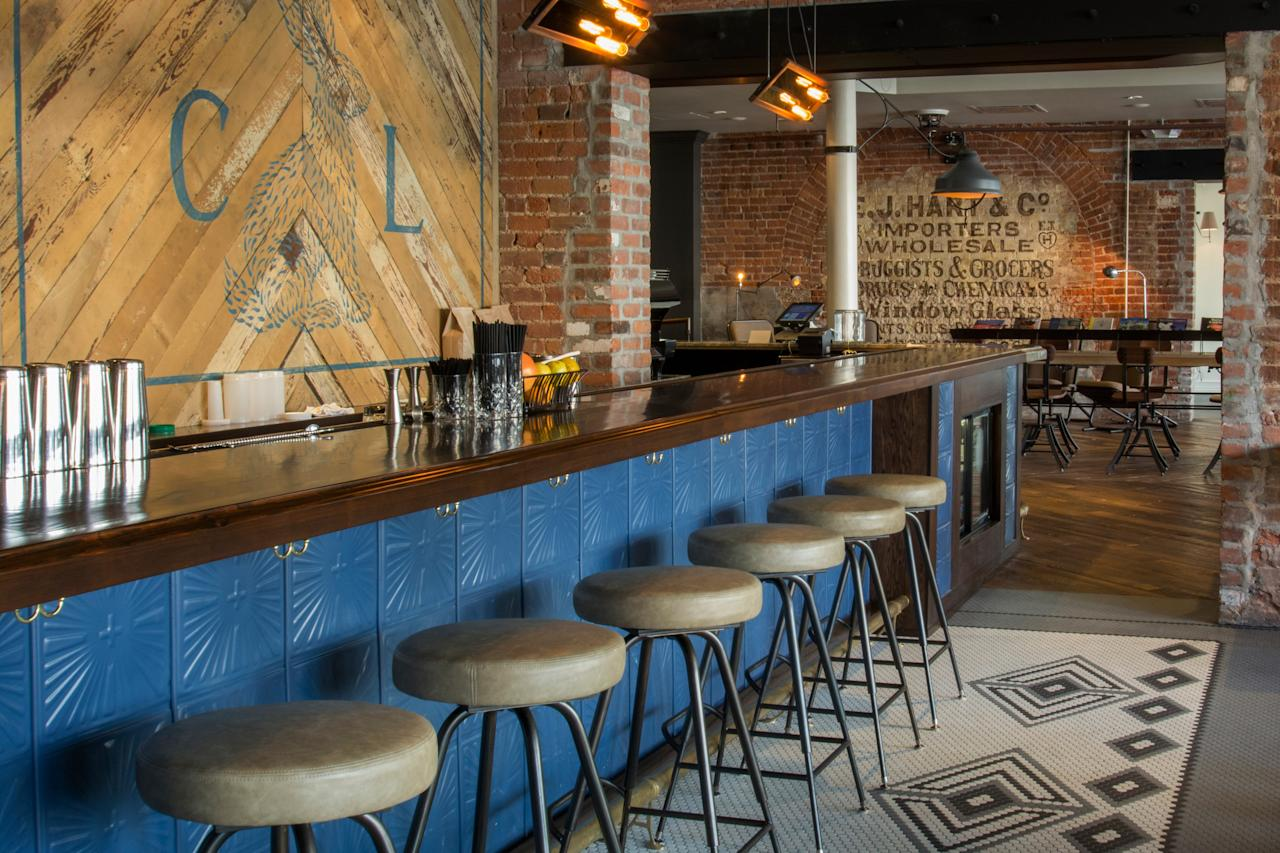 """<p><strong>Tell us about your first impressions when you arrived.</strong><br> Few restaurants can claim digs in a former chandlery. But that's the case for Compère Lapin, part of boutique hotel <a href=""""https://www.cntraveler.com/hotels/united-states/new-orleans/the-old-no-77-hotel-chandlery?mbid=synd_yahoo_rss"""">The Old 77</a>, which boasts exposed brickwork and looming wooden beams. The atmosphere is buzzy, with an intimate bar up front and a cozy-knit collection of tables in back.</p> <p><strong>What was the crowd like?</strong><br> Though its name might suggest a traditional French-Creole joint, the food at Compère Lapin is predominantly <a href=""""https://www.cntraveler.com/gallery/readers-choice-awards-caribbean-resorts?mbid=synd_yahoo_rss"""">Caribbean</a>, a relative rarity in this city. Cue curious foodies that want to go beyond the usual gumbo and jambalaya. Ages are mixed, but visitors tend to be well-dressed and just off work.</p> <p><strong>What should we be drinking?</strong><br> The well-thought-out cocktail program is one of the city's best and most exciting, helmed by powerhouse bartender Abigail Gullo. Even if the restaurant is slow, there's usually a full complement of drinkers at the bar. The fresh-made frozen drinks are a particular favorite. The wine list stretches to around twenty pages, not too shabby for a restaurant of this size.</p> <p><strong>Main event: the food. Give us the lowdown—especially what not to miss.</strong><br> Executive chef Nina Compton infuses classic New Orleans cuisine with flavors of her hometown on the island of St. Lucia. Chilled shrimp, coconut curry, and tostones kick off the starters alongside roasted banana zeppoles and rum caramel, with goat bolognese and coconut French toast (slathered in a pecan rum sauce, no less) heading up the mains.</p> <p><strong>And how did the front-of-house folks treat you?</strong><br> The dining room is casual and friendly. Servers easily crack smiles even under pressure, and are happy to"""