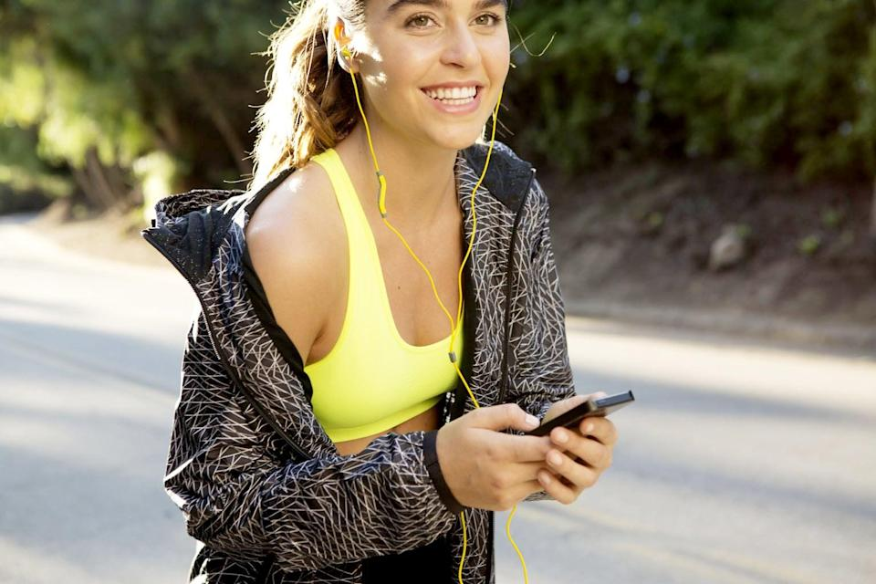 """<p>It seems like everyone is attached to cell phones these days. Even if you're using one to stream a <a href=""""http://www.popsugar.com/latest/workout-music/"""" class=""""link rapid-noclick-resp"""" rel=""""nofollow noopener"""" target=""""_blank"""" data-ylk=""""slk:workout playlist"""">workout playlist</a>, stop texting or chatting with a friend when you're at the gym. Giving full attention to a workout keeps you focused and allows you to maximize results. The payoff is the weight-loss results you are bound to see. </p>"""