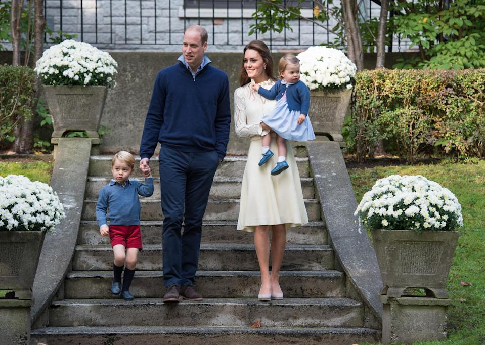 Prince William and Kate Middleton are in the hot seat. (Photo: Getty Images)