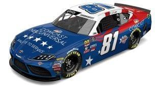 "Comcast NBCUniversal plans to round out the NASCAR Salutes initiative with a flourish, announcing Wednesday that it will sponsor the Xtreme Concepts Racing No. 81 Toyota driven by Jeffrey Earnhardt with a patriotic paint scheme in the Xfinity Series race at Chicagoland Speedway. Comcast announced the ""Salute to Service"" design for Earnhardt's entry, which will […]"