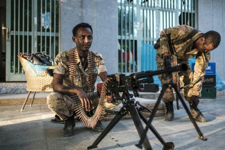 "Security is being maintained by Amhara's uniformed ""special forces"" throughout west Tigray"