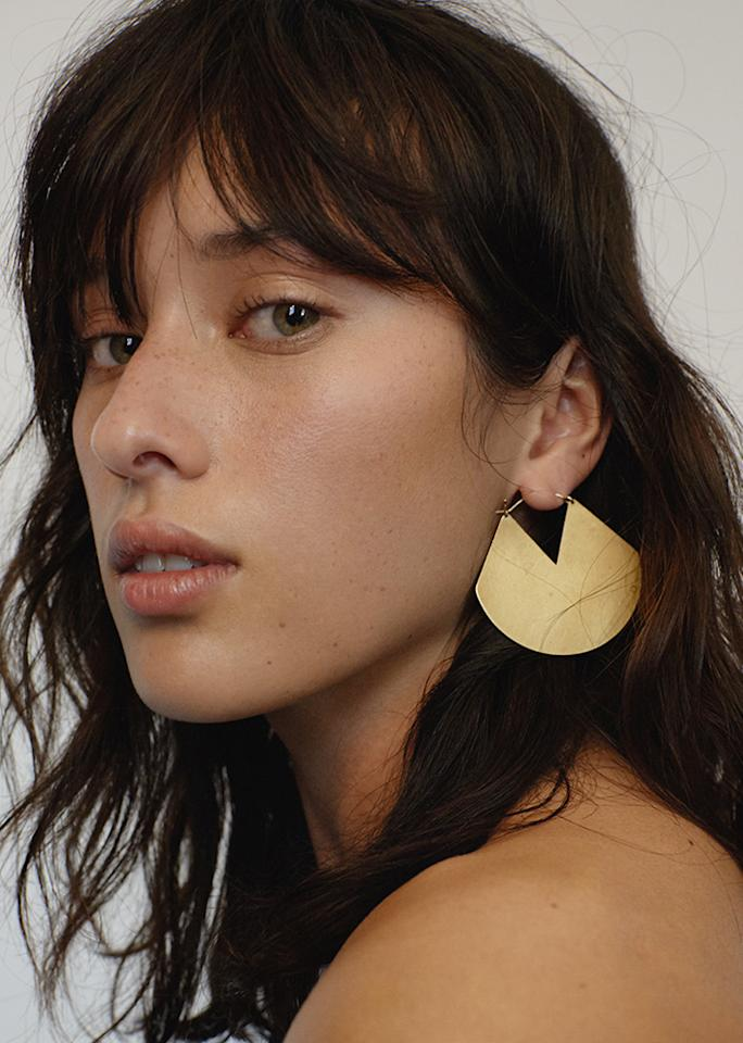 """Fay Andrada Viuhka Earrings, $170; at <a rel=""""nofollow"""" href=""""https://thefrankieshop.com/collections/accessories/products/fay-andrada-viuhka-earrings"""" rel="""""""">The Frankie Shop</a>"""
