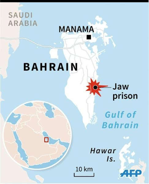 Ten inmates escaped Bahrain's central prison south of Manama in a deadly attack on January 1