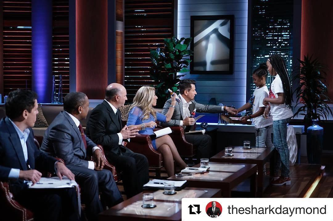 <p>#Repost @thesharkdaymond: The Sharks are taking over @yahootv's instagram! Check it out for an exclusive look into #SharkTank! AND make sure to watch an all new episode of @sharktankabctonight at 9/8C! (Credit: Instagram) </p>