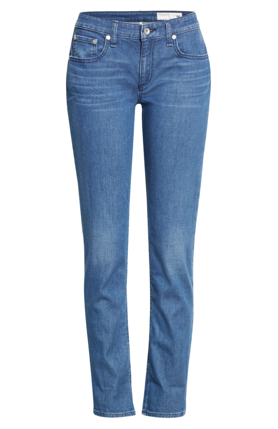 """<p><strong>Rag & Bone</strong></p><p>nordstrom.com</p><p><a href=""""https://go.redirectingat.com?id=74968X1596630&url=https%3A%2F%2Fwww.nordstrom.com%2Fs%2Frag-bone-dre-low-rise-slim-boyfriend-jeans-calimet%2F5913449&sref=https%3A%2F%2Fwww.harpersbazaar.com%2Ffashion%2Ftrends%2Fg37107648%2Fnordstrom-anniversary-sale-jeans%2F"""" rel=""""nofollow noopener"""" target=""""_blank"""" data-ylk=""""slk:Shop Now"""" class=""""link rapid-noclick-resp"""">Shop Now</a></p><p><strong><del>$195</del> 129.90</strong></p><p>The Nordstrom Anniversary Sale is stocked with Rag & Bone's luxury, laid back denim. Of all the pairs to choose from, this relaxed boyfriend jean is our top pick. Roll up the cuffs and throw on a t-shirt for an easy weekend outfit—or just a Saturday state of mind.</p>"""