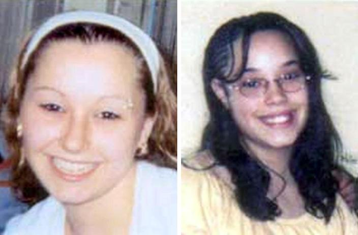 "FILE - These undated file handout photos provided by the FBI show Amanda Berry, left, and Georgina ""Gina"" Dejesus. For DeJesus, Berry and Michelle Knight, who were freed from captivity inside a Cleveland house on Monday, May 6, 2013, the ordeal is not over. Next comes recovery _ from sexual abuse and their sudden, jarring reentry into a world much different than the one they were snatched from a decade ago. (AP Photo/FBI, File)"