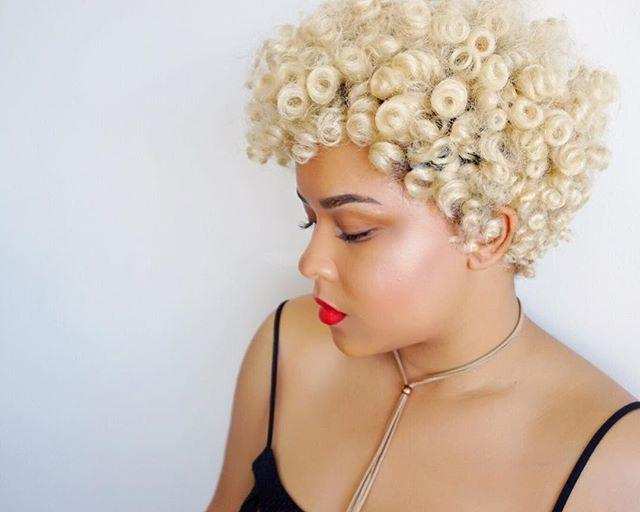 """<p>Crochet curls look good at <em>every </em>length. If short hair is your style, rock a curly 'do like this—ringlets look even more defined with a short cut. As I mentioned above, color, like this eye-catching platinum hue, makes everything better. Be sure to consult a stylist on which shade will suit your skin tone the best. </p><p><a href=""""https://www.instagram.com/p/BSl4WeZlB5E/?utm_source=ig_embed&utm_medium=loading"""" rel=""""nofollow noopener"""" target=""""_blank"""" data-ylk=""""slk:See the original post on Instagram"""" class=""""link rapid-noclick-resp"""">See the original post on Instagram</a></p>"""