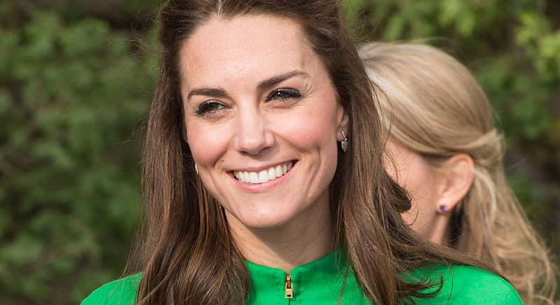 Kensington Palace share throwback of Duchess of Cambridge in Superga trainers. (Getty Images)