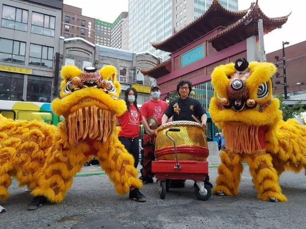 Lions will be dancing again soon in Montreal's Chinatown. (Submitted by Jimmy Chan - image credit)