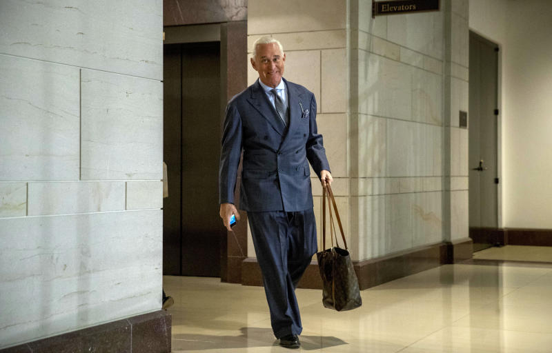 Stone associate expects to be charged in Mueller probe