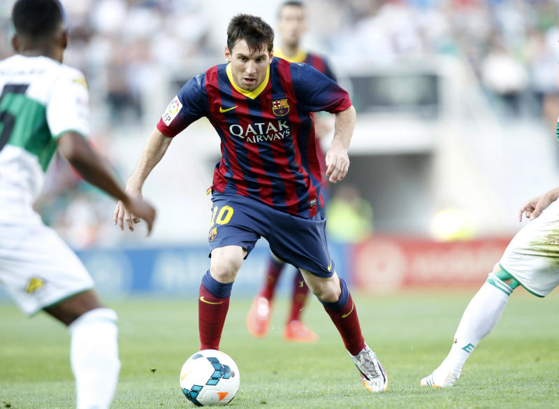 Messi set to get big raise from Barcelona