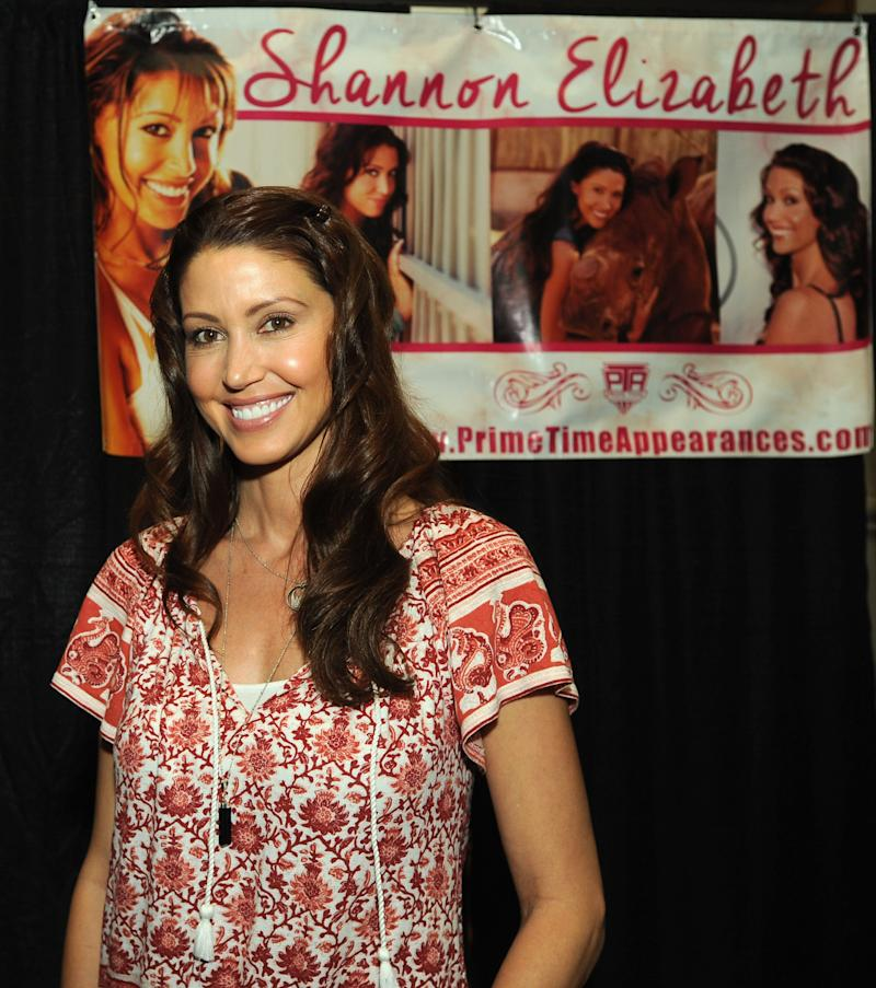 ATLANTIC CITY, NJ - MARCH 30: Shannon Elizabeth attends the 2019 New Jersey Horror Con And Film Festival at Showboat Atlantic City on March 30, 2019 in Atlantic City, New Jersey. (Photo by Bobby Bank/Getty Images)