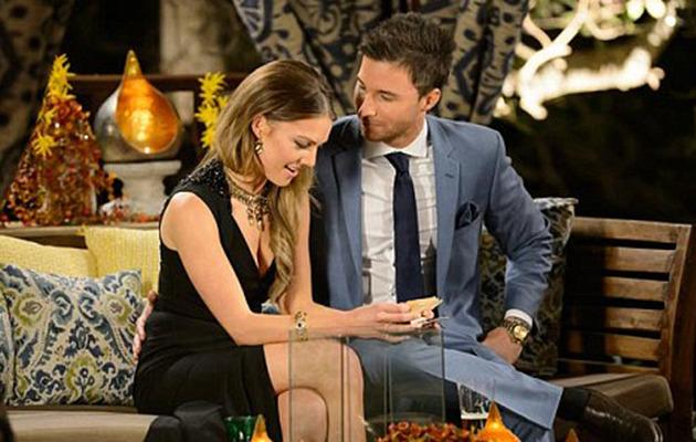 Sam and Michael on The Bachelorette. Photo: Supplied.