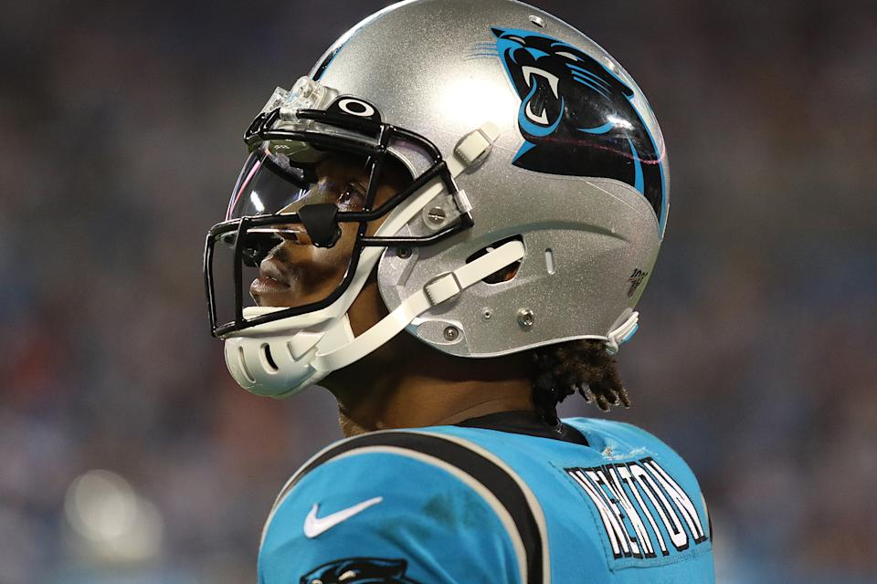 Adding Cam Newton changed the odds for the Patriots. (Photo by John Byrum/Icon Sportswire via Getty Images)
