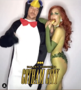 <p>In 2018, Halsey was the Poison Ivy to Diplo's penguin for her party. Sure, it doesn't quite match, but somehow it works.</p>