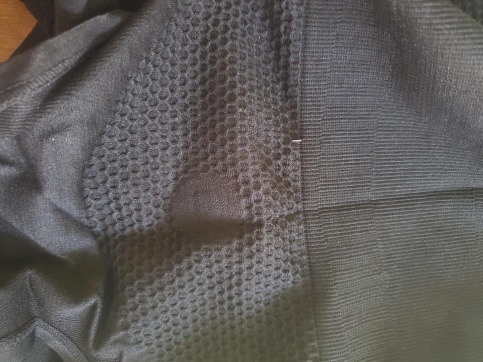 The small tag was found sewn into the garment. Source: Facebook