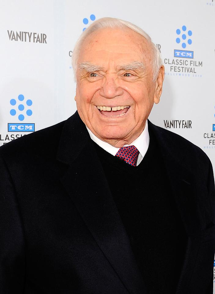"""Borgnine might have made his silver screen debut during the Truman administration -- at the ripe old age of 35 -- but his career is still going strong. He stars alongside Helen Mirren and Bruce Willis in this fall's """"<a href=""""http://movies.yahoo.com/movie/1809388541/info"""">Red</a>."""""""