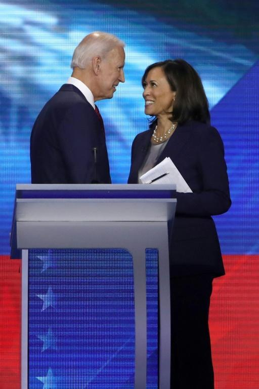 California Senator Kamala Harris endorsed former vice president Joe Biden in March after dropping out of the White House race
