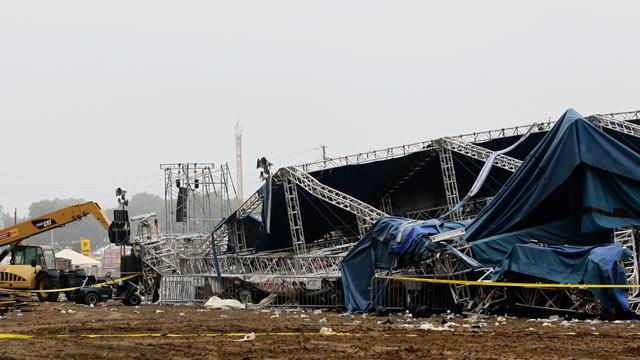 Sugarland Stage Collapse Reports Cite Inadequate Construction and Emergency Plans