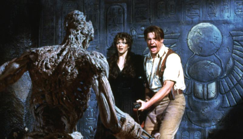 Brendan Fraser and Rachel Weisz in 'The Mummy' (Photo: Everett Collection)