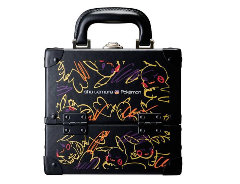 Catch'em All Pikashu Premium Makeup Box. (PHOTO: Shu Uemura)