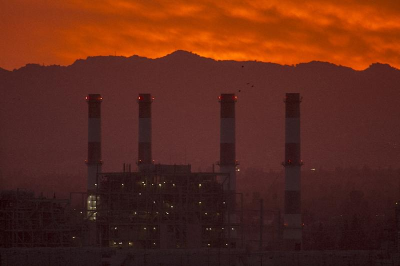 Energy-related CO2 emissions in the United States, such as this gas-powered generating station in California, rose in 2018, according to a new study