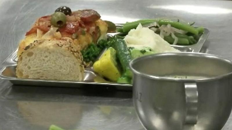 Alcatraz-Style Food on Menu at San Francisco Hotel