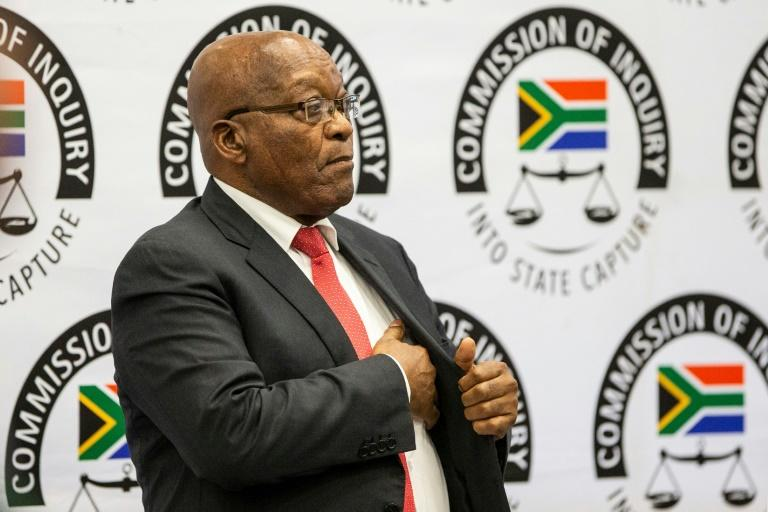 Former South African president Jacob Zuma went before a commission of inquiry that has sat for 133 days so far