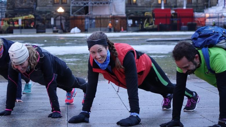 Burpees on the Hill: Fitness buffs offer free early morning workouts