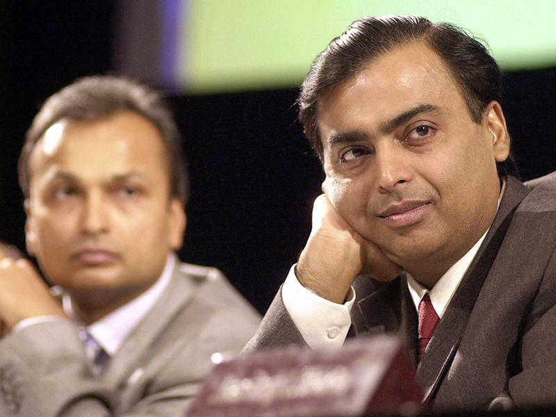 Mukesh Ambani: India's richest man pays $77m to save brother from jail after helping put him out of business