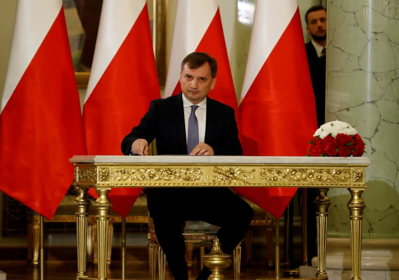 Poland to quit treaty on violence against women, minister says