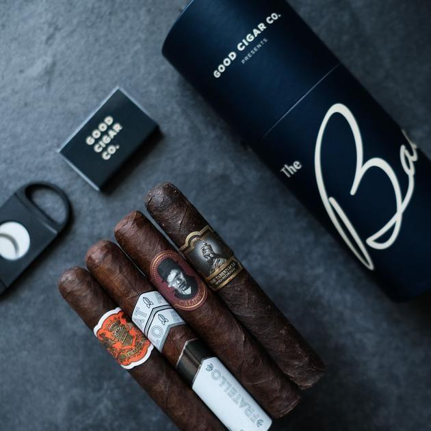 """<p>goodcigar.co</p><p><strong>$39.99</strong></p><p><a href=""""https://www.goodcigar.co/products/monthly-subscription"""" rel=""""nofollow noopener"""" target=""""_blank"""" data-ylk=""""slk:Shop Now"""" class=""""link rapid-noclick-resp"""">Shop Now</a></p><p>This monthly cigar subscription service offers either four or eight premium cigars depending on the membership level you choose. It's truly the gift that keeps on giving.</p>"""