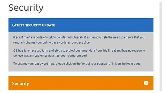 GE Money is urging its customers to change their passwords. Photo: Supplied