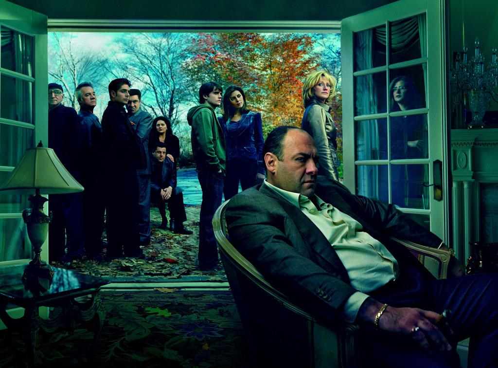 "The cast of HBO's ""The Sopranos."""