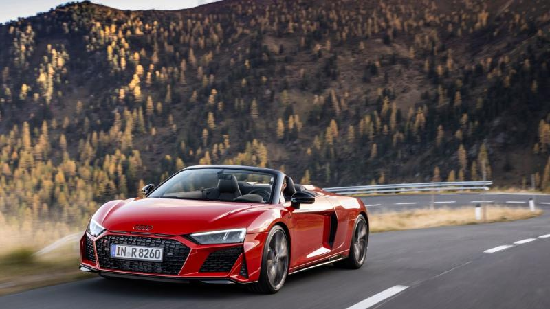 nuovo restyling audi r8