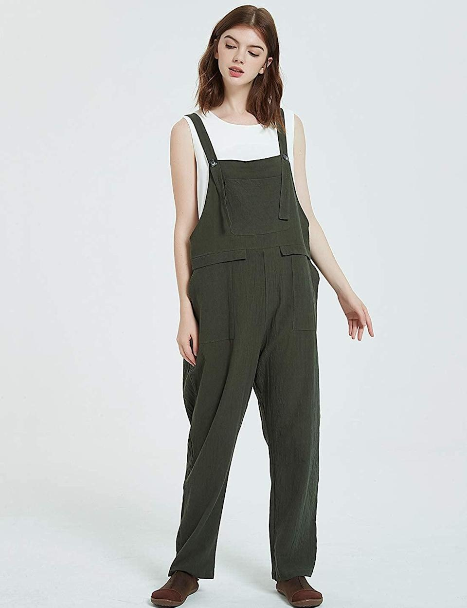 <p><span>Gihuo Casual Baggy Overalls Jumpsuit with Pockets</span> ($20, originally $23)</p>