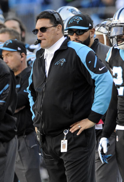 Panthers coach Ron Rivera (USA Today Sports Images)