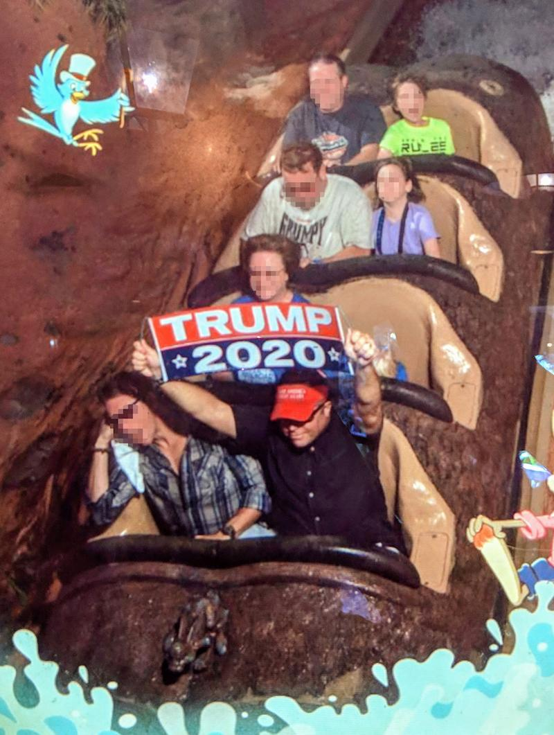 Man Permanently Banned From Disney Parks After Repeatedly Holding Up