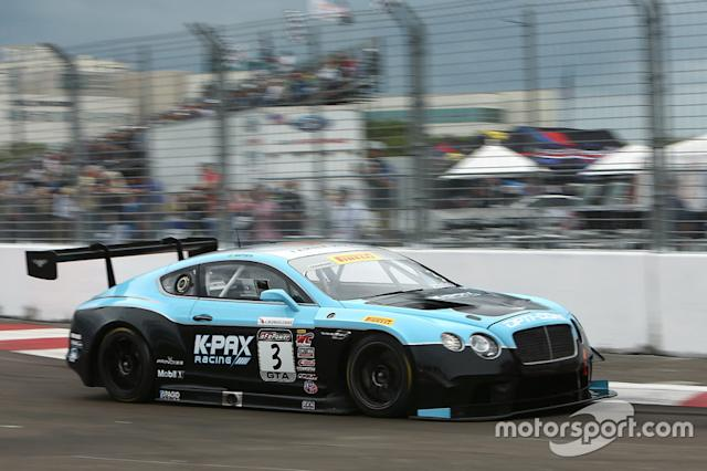 "#3 K-PAX Racing Bentley Continental GT3: Rodrigo Baptista <span class=""copyright"">Art Fleischmann</span>"