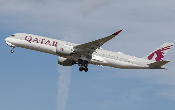 Qatar has reported a record loss