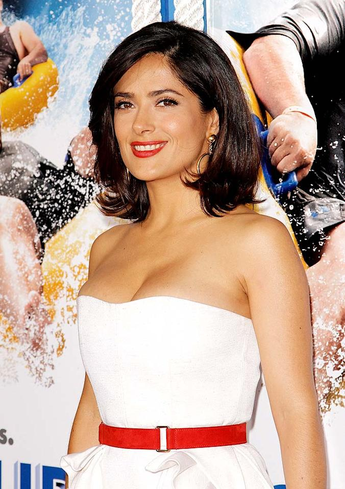 """September 2: Salma Hayek turns 44 Soul Brother/<a href=""""http://www.gettyimages.com/"""" target=""""new"""">GettyImages.com</a> - June 23, 2010"""