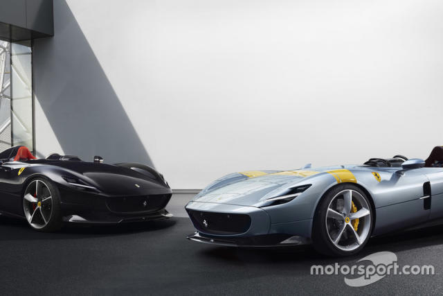 "Ferrari Monza SP1 e Monza SP2 <span class=""copyright"">Ferrari Media Center</span>"
