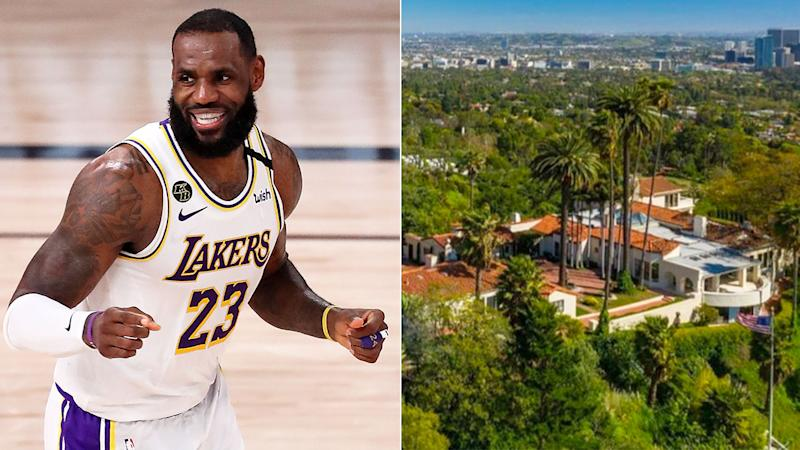 LeBron James has just purchased the LA mansion pictured on the right.