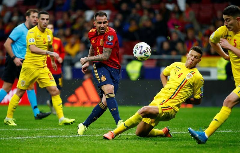 Euro 2020 Qualifier - Group F - Spain v Romania
