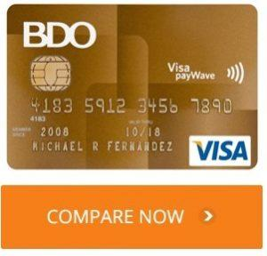 BDO credit card