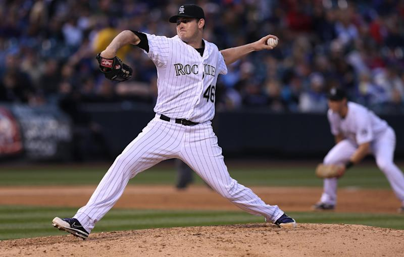 Matzek shines in debut as Rockies beat Braves 8-2