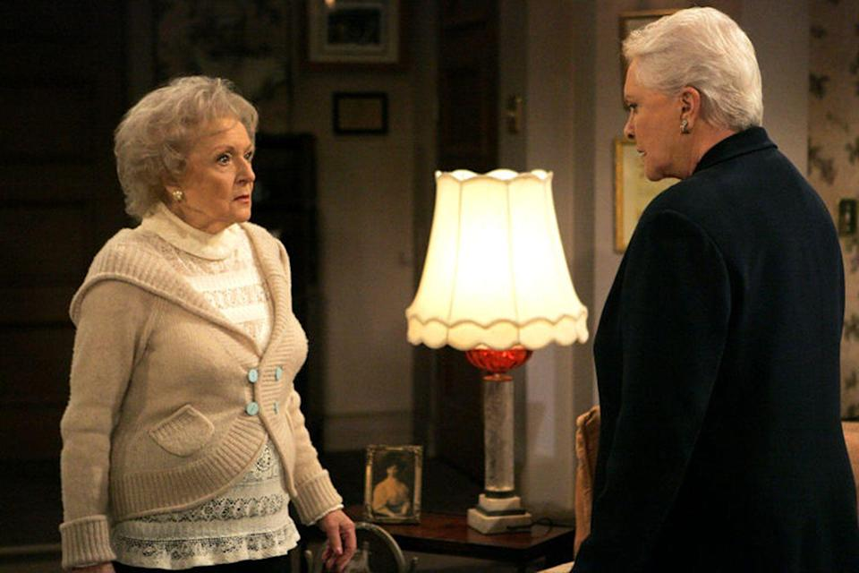<p>Betty White has done so many different roles that it almost isn't surprising to hear that she was on a soap opera. And she didn't just cameo—she had a role on <em>The Bold and The Beautiful</em> from 2006 until 2009. White played Stephane Forrester's mother, Ann Douglas, for 23 episodes. </p>