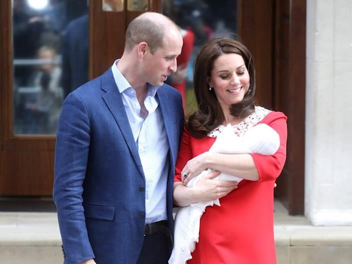 Kate middleton Prince William and Prince Louis