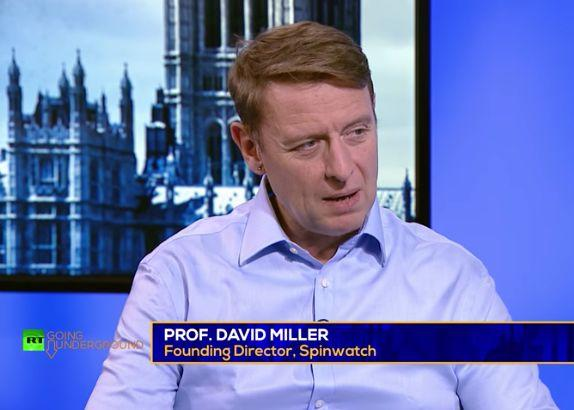 <strong>Professor David Miller teaches political philosophy at the University of Bristol.</strong> (Photo: RT/YouTube)