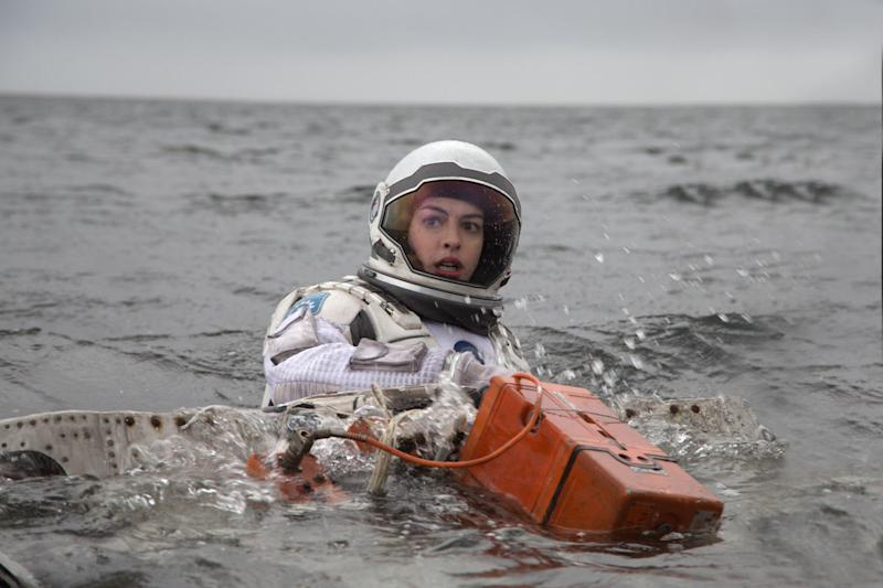 Anne Hathaway in Interstellar (Warner Bros.)